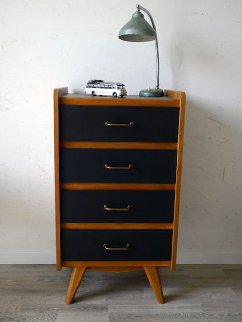 petit chiffonnier vintage des ann es 60 par gigi sweetvintage homify. Black Bedroom Furniture Sets. Home Design Ideas