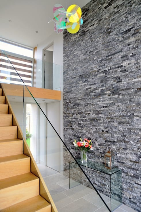 Projekty,  Korytarz, przedpokój zaprojektowane przez Hall + Bednarczyk Architects