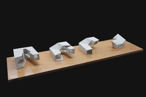Dickies Showroom: Maquetas de Proceso :  de estilo  por TAAV Arquitectos