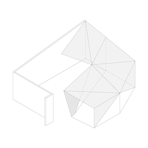 Dickies Showroom: Axo :  de estilo  por TAAV Arquitectos