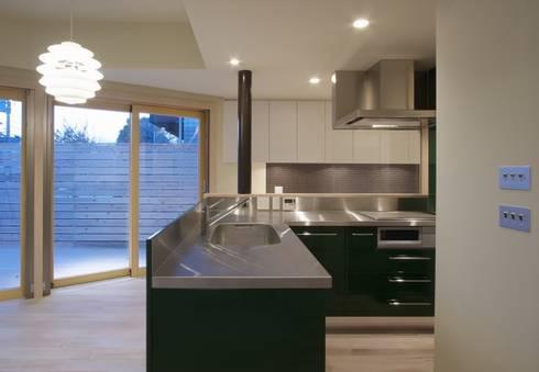 井の頭の家: TAMAI ATELIERが手掛けたキッチンです。