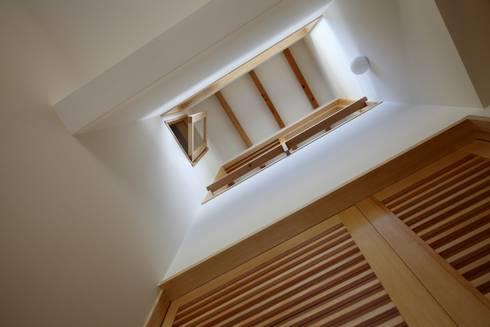 安中榛名の家: TAMAI ATELIERが手掛けた窓です。