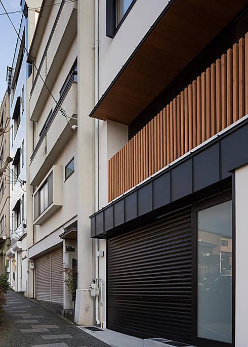 北側外観(リフォーム): 河合建築デザイン事務所が手掛けた家です。