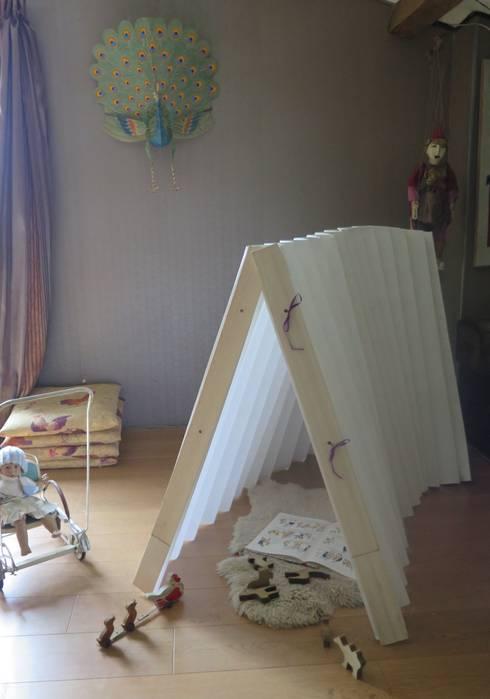 Tente Origanid : Chambre d'enfants de style  par Origanid
