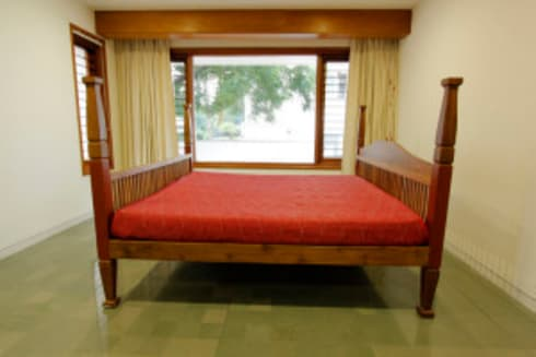 contemporary furniture hyderabad: asian Bedroom by Benumehta
