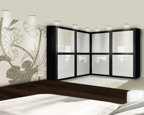 Dormitorios de murales divinos homify Murales para recamaras matrimoniales