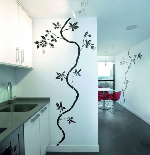 Kitchen by Murales Divinos