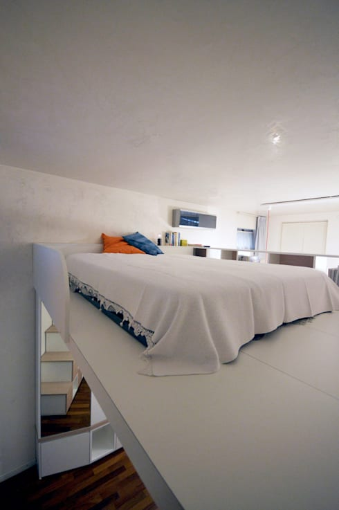 moderne Schlafzimmer von Okapi