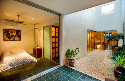 Casa del Arbol: Terrazas de estilo  por Taller Estilo Arquitectura