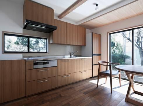 ある舞踏家の家: 松井建築研究所が手掛けたキッチンです。