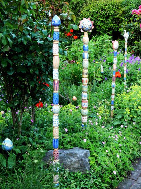 Gartenkeramik von annette oberwelland homify for Gartenskulpturen aus ton