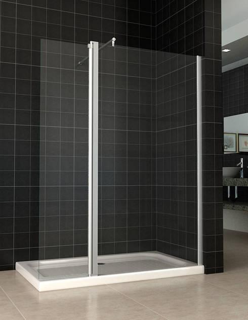 Mamparas de ducha de todo para la ducha homify for Fotos de mamparas de ducha