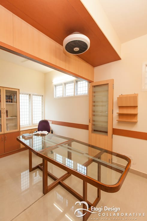 Office Interiors for Aabhath Consulting Pvt Ltd, Bangalore. India.:  Offices & stores by Etagi Design Collaborative
