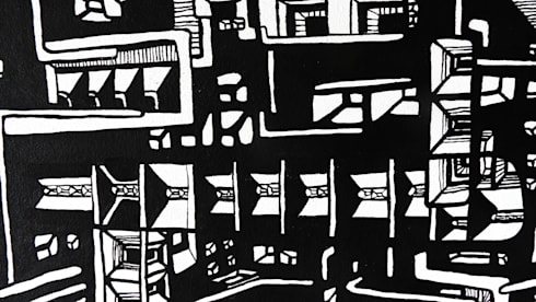 """Acha"" Detalle: Arte de estilo  por Julián Cheula"