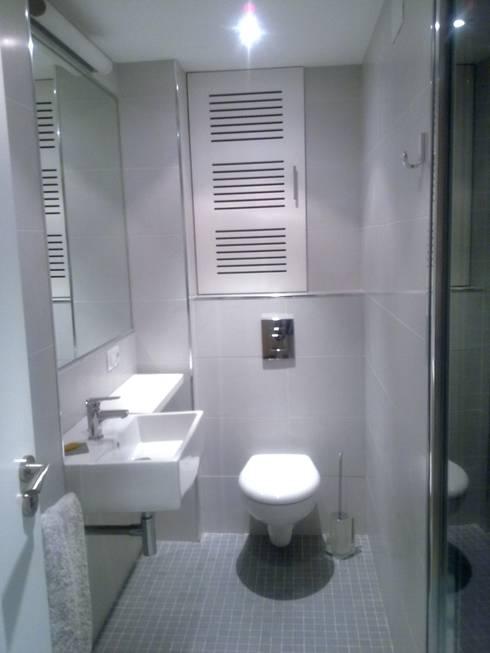 De aseo de cortesía a baño completo de Arquitectos Fin | homify