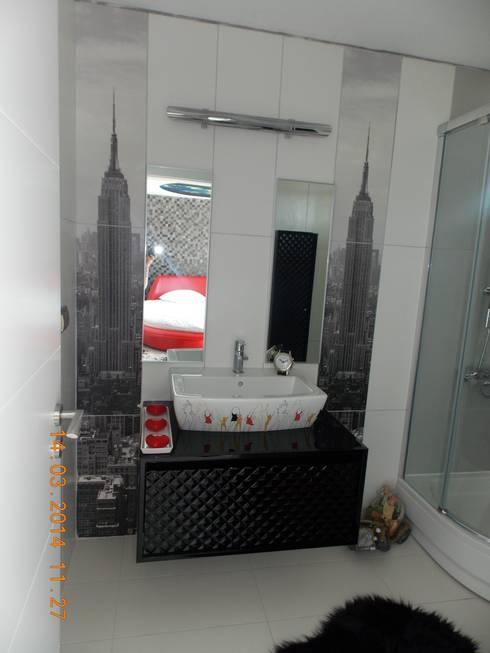 modern Bathroom by Vizyon mimarlık ve Dekorasyon