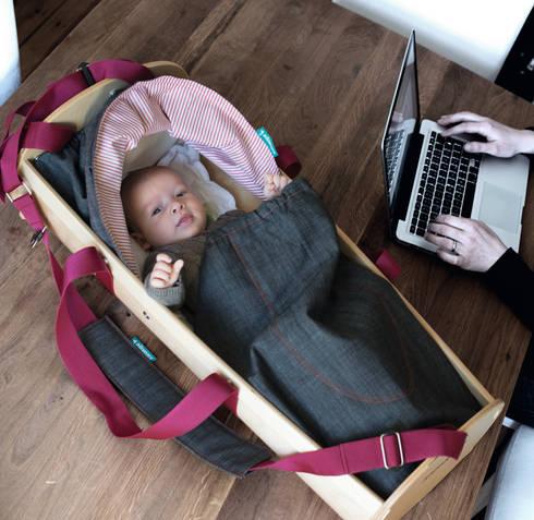 kidskoje mobile babywiege und spielwagen von kidskoje. Black Bedroom Furniture Sets. Home Design Ideas