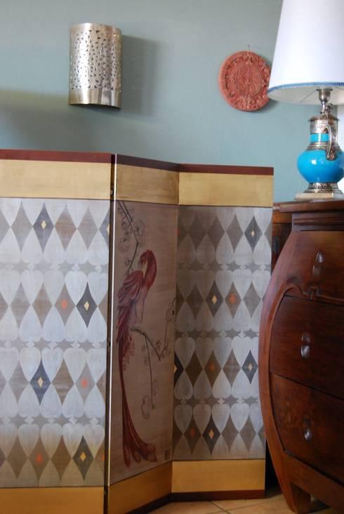 Salas de estilo asiático por Bitelli Marta - decorazioni pittoriche