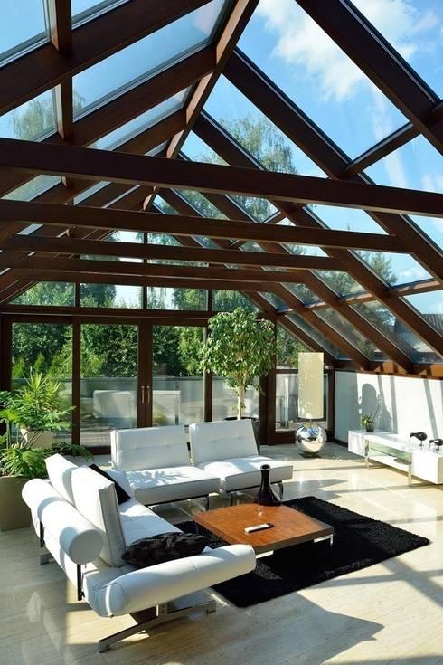 JARE DOM: styl , w kategorii Ogród zimowy zaprojektowany przez ARCHITEKT.LEMANSKI