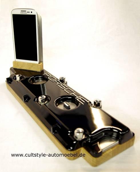 Automöbel dockingstation aus porsche 911 g ventildeckel by cultstyle automöbel