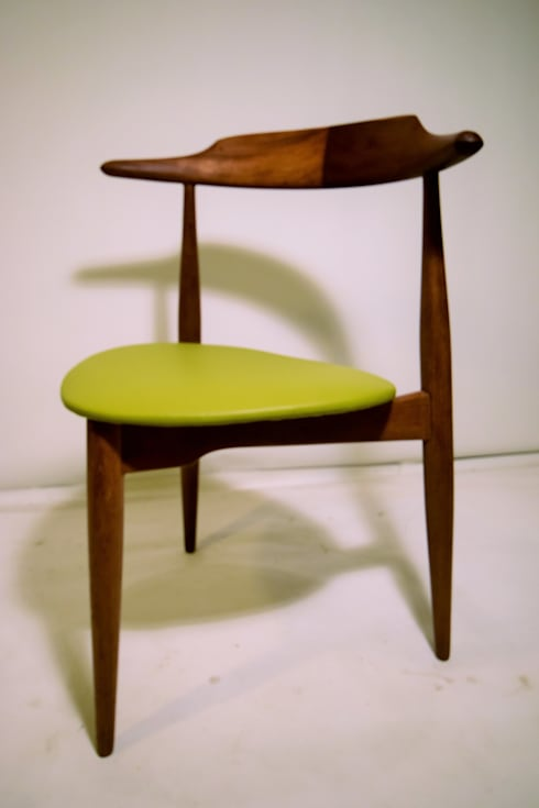 Silla Corazón, Hans Wegner, '50s. Dinamarca: Comedor de estilo  de Vintage Room