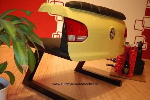 Automöbel beleuchtetes sofa aus golf vi heckklappe cultstyle automöbel