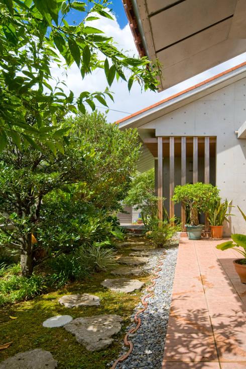 .: 株式会社 東設計工房が手掛けた庭です。