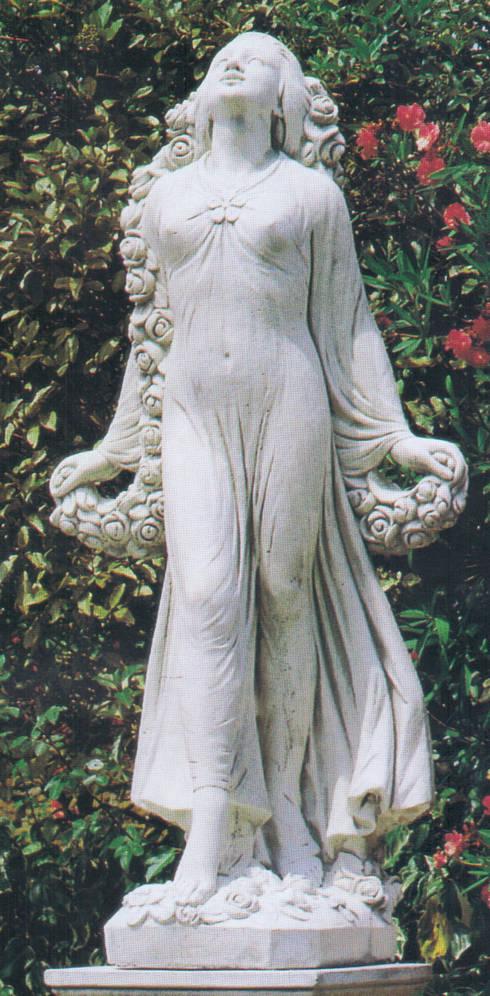 statue da giardino in cemento da esterno di pmc homify