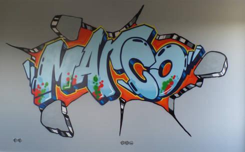 Interieur en exterieur paintings door Mooie graffiti   homify