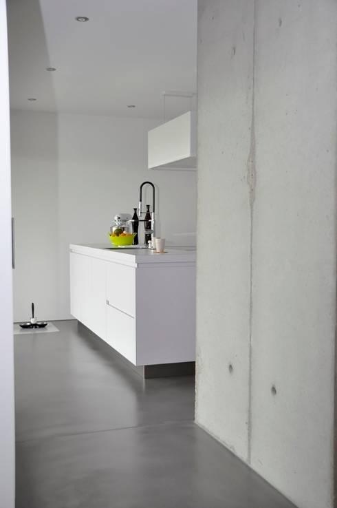 Projekty,  Kuchnia zaprojektowane przez lc[a] la croix [architekten]