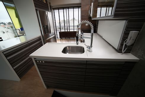 Cozinha: Cozinhas modernas por Grupo DH arquitetura