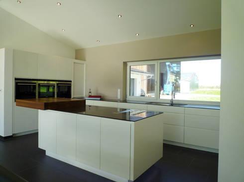 loft küche mit kücheninsel von teamlutzenberger | homify, Hause ideen
