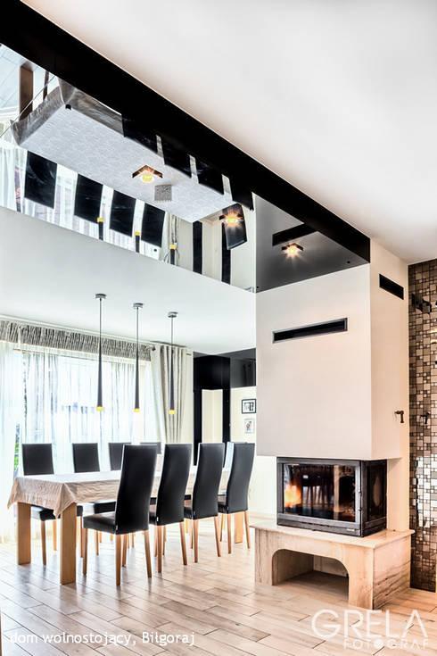 apartamenrt Majdan Stary : styl , w kategorii Jadalnia zaprojektowany przez Auraprojekt