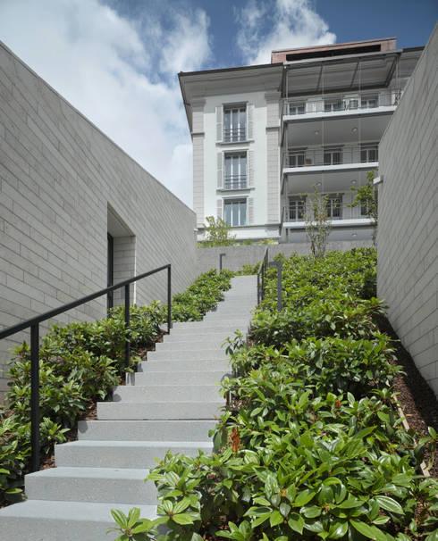 Stadtvillen Adligenswilerstrasse Luzern: moderne Häuser von alp - architektur lischer partner ag