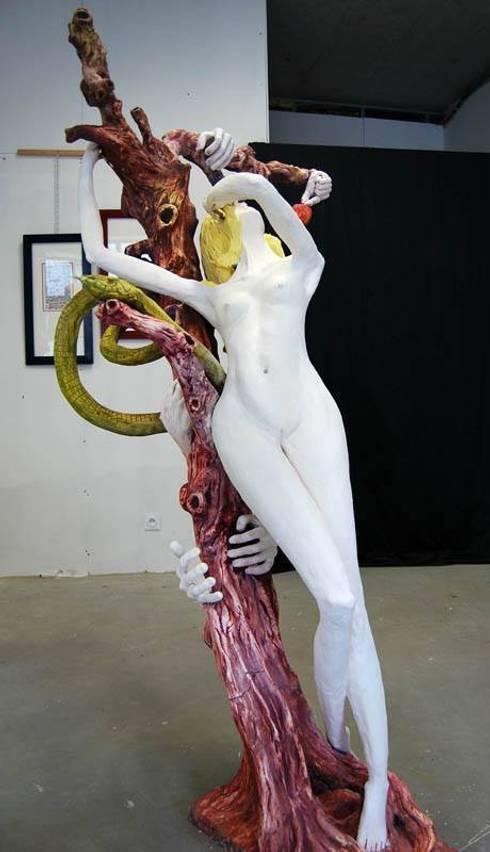Eve au jardin des plaisirs défendus: Art de style  par François Peltier