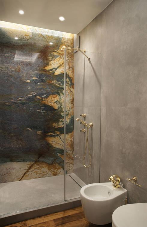 Ванные комнаты в . Автор – SAFRANOW