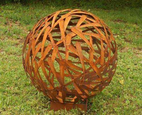 Rost Kugel Durchmesser 80cm Von Gartendekoshop24 Homify