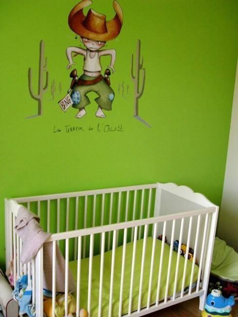 The atypical House: Chambre d'enfants de style  par Agence O² Design