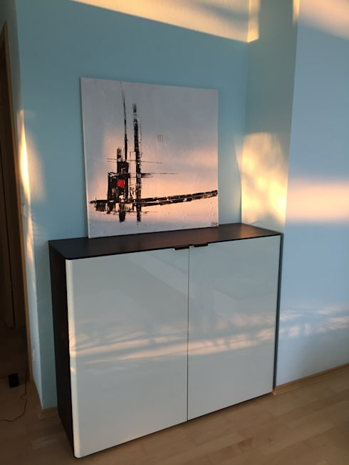 wohnbeispiele by andrea peiss art homify. Black Bedroom Furniture Sets. Home Design Ideas