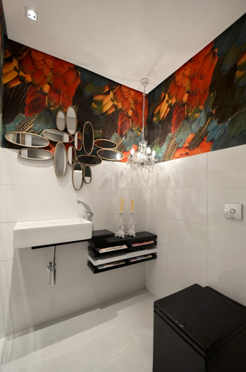 Johnny Thomsen Design de Interiores: tropikal tarz tarz Banyo