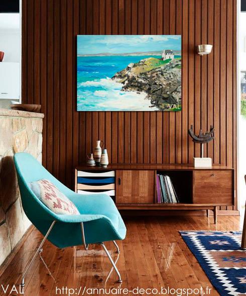 Me s tableaux dans les ambiances déco: Salon de style  par NetWorking Blog déco