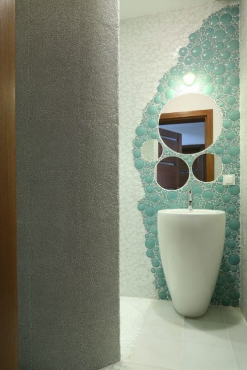 Baños de estilo  por CAROLINE'S DESIGN