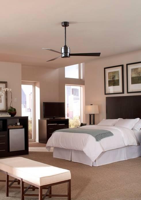Casa bruno ventiladores de estilos minimalista moderno for Techos de recamaras
