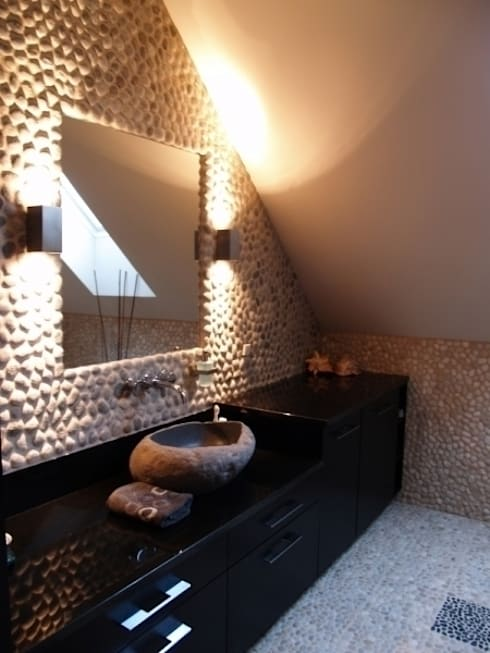 Łazienka eco.: styl , w kategorii Łazienka zaprojektowany przez CAROLINE'S DESIGN