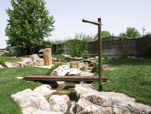 Farolas de madera de imperialed homify - Farolas para jardin ...
