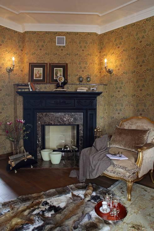 Дом 380 м2: Гостиная в . Автор – Tatiana Ivanova Design