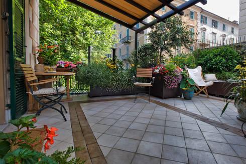 Il terrazzo a savona por adriana pedrotti verde progetto for Progetto verde