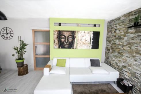 Décoration d\'une pièce à vivre par Violaine Denis | homify