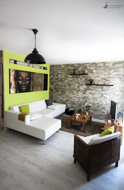 Salas / recibidores de estilo  por Violaine Denis