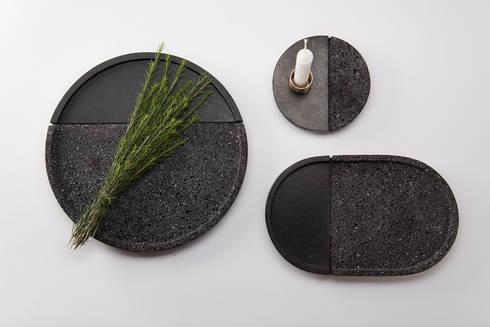 Lava: Salas de estilo minimalista por PECA